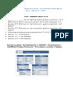 Impacto de La Presentacion de Los Estados Financieros Bajo Las Niif a La Smv
