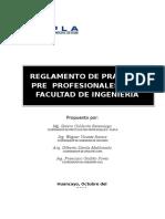 Reglamento Practica Pre Profesional