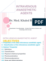 Intravenous Anesthetic Agents-1