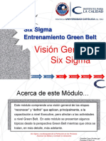 01 Define W1 Six Sigma Overview Sp. Six sigma Define