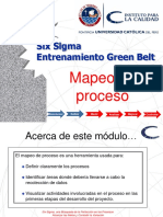 01 Measure W1 Process Mapping Sp. Six sigma Measure
