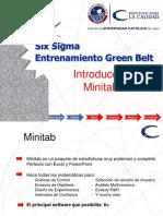 04 Measure W1 Introduction to Minitab Sp. Six sigma measure