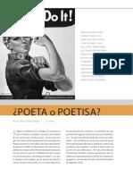 Poeta o Poetisa