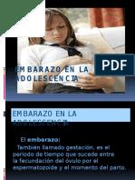Powerpoint Embarazo en La Adolescencia
