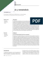 geohelmintiasis nematosis tisulares