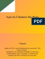 Apresentação- Ação Da Cidadania SP