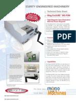 SEM Mag Erasure P3M Manual Magnetic Media Degausser Specs
