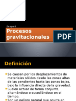 Procesos Gravitacionales