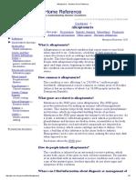 Alkaptonuria - Genetics Home Reference