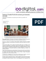 27-12-15 Instruye Claudia Pavlovich acciones por tormenta invernal - Peñasco Digital