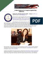 ALIPAC Endorses Maria Espinoza for Congress Against Rep. Culberson