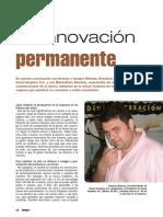 La innovacion permanente