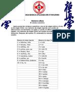 Terminologia Utilizada en Kyokushin