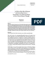Fakhru'D-din Razi, Ibnu'L-haytham & Aristotelian Science
