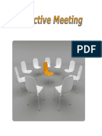 Effective Meeting Basics