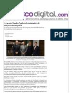 21-12-15 Acuerda Claudia Pavlovich instalación de empresa aeroespacial - Peñasco Digital