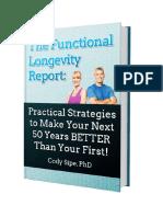 The Functional Longevity Report eBook