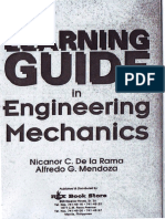 Learning Guide in Engineering Mechanics