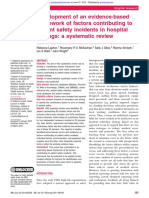 Development of an evidence based framework of factors contributing to patient safety incidents in hospital.pdf