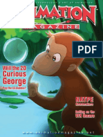 Animation.magazine.20 02. .Feb.2006. .Will.the.2D.curious.george.pop.the.cg.Bubble