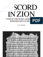 Giladi - Discord in Zion - Conflict Between Ashkenazi and Sephardi Jews in Israel (1990)