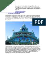 Tokyo Disneyland – Thiên Đường Giải Trí Cho Khách Du Lịch Nhật Bản