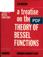 Treatise on the Theory of Bessel Functions