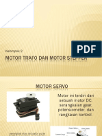 Motor Servo Dan Motor Stepper