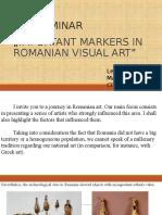Seminar MNAC Romanian Painters