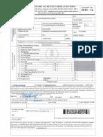 India Sudar Income Tax File 2014-15