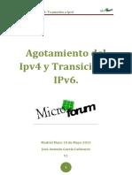 Agotamiento Del Ipv4 y Transición a IPv6.