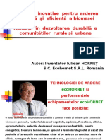 Aplicatie EcoHORNET Scurt 2015