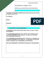 Apuntes Física y Química 3º Eso Tema 1