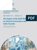 The Impact of the Dark Web on Internet Governance and Cyber Security