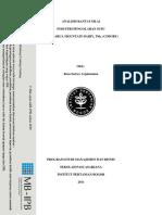 Analisis Rantai Nilai Industri Pengolaha