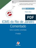 Icms Rj Comentado 3ed