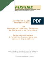 Rapport d'Experience Informatiqune