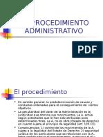 EL PROCEDIMIENTO ADMINISTRATIVO (España).pps