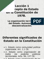 Concepto de Estado de Constitucion (España).pps