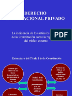 CONSITUCION Y DCHO. INTERN. PRIVADO(ESPAÑA).pps