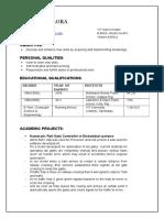 Resume Pratik Jhalora