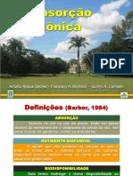 Absorcao Ionica