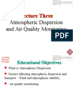 Lecture Three_ Atmospheric Dispersion and Air Quality Monitoring_web