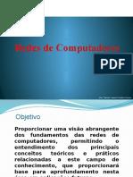Aula de Redes de Computadores