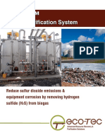 Biogas Purification System