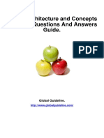 Oracle Architecture and Concepts Job Interview Preparation Guide