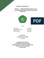 Proposal Penelitian PKM Palaran