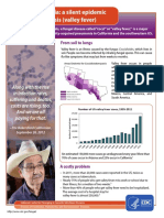 Valley Fever Cocci Fact Sheet California Final 508c