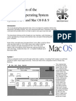 The Evolution of the Mac Operating System 1 to 9