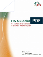 ITS Asia -Guideline for Sustainable Transport in the Asia-Pacific Region